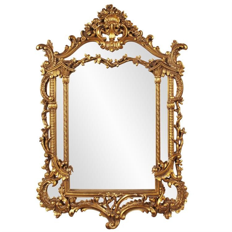 Nostalgia Gold Mirror