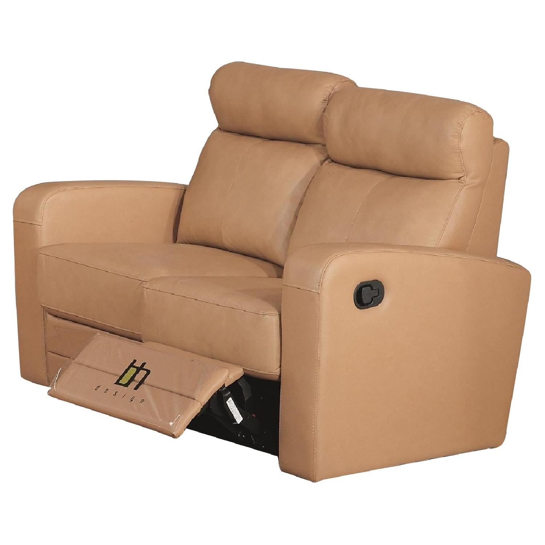 Apartment Size Recliner Loveseat In Taupe Color Top Aptdeco ~ Leggett And Platt Leather Recliner Sofa