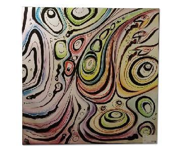 BoConcept Upside Down Canvas Print