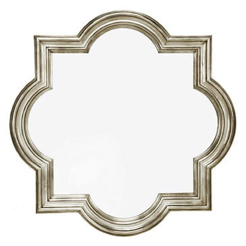Z Gallerie Quatrefoil Mirror