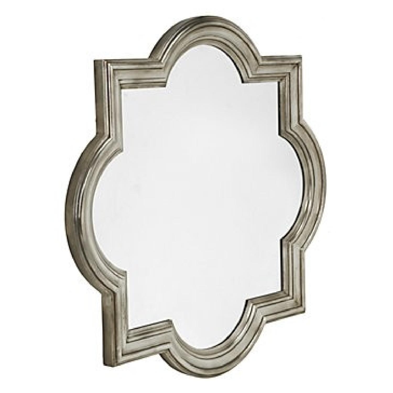 Z Gallerie Quatrefoil Mirror-0