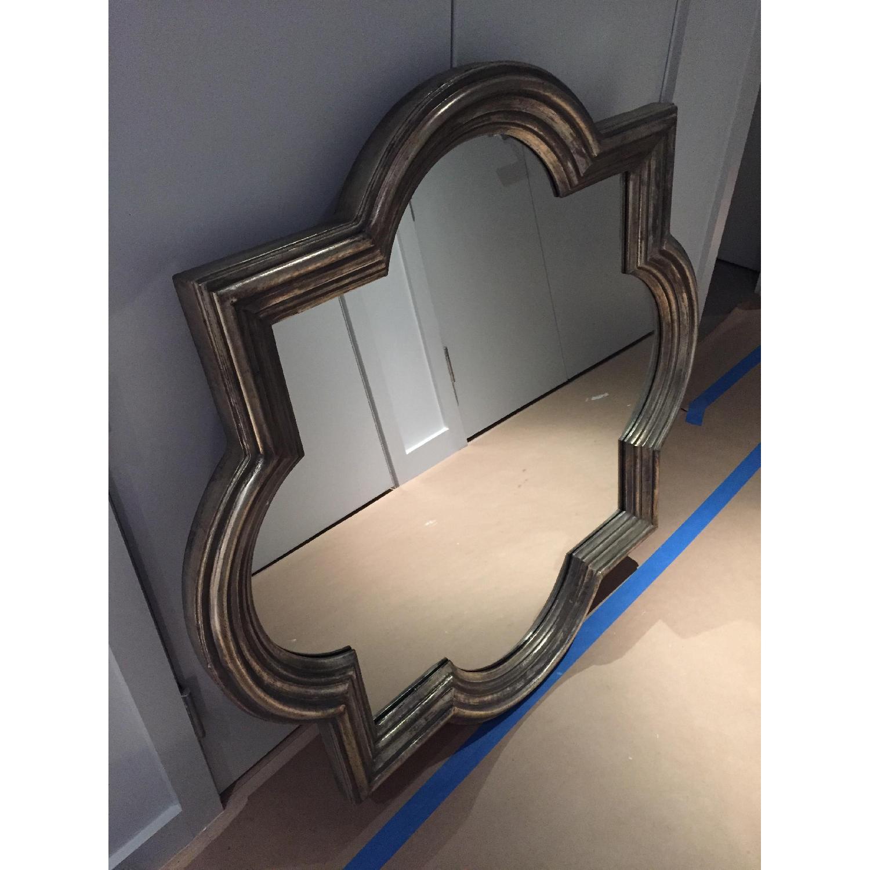 Z Gallerie Quatrefoil Mirror-1