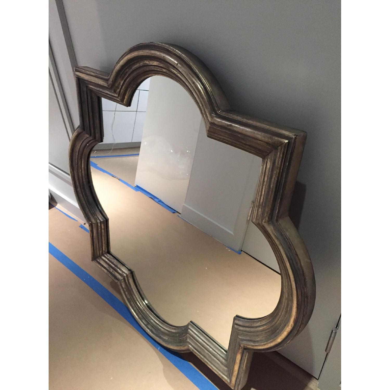 Z Gallerie Quatrefoil Mirror-2