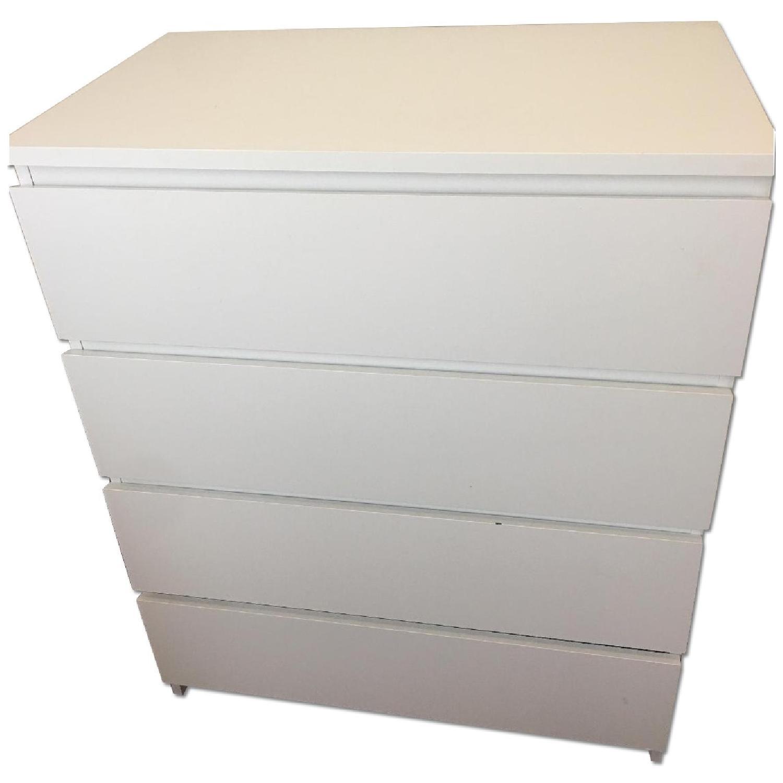 Ikea Malm 4 Drawer Dresser