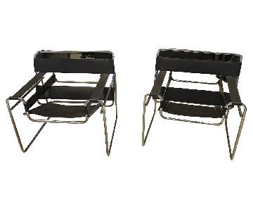Vintage Knoll Marcel Breuer Wassily Chairs