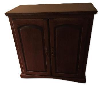 Custom Made Maple Wood Cabinet