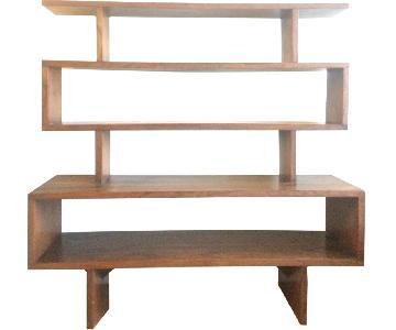 Vintage Wooden 4 Tier Shelves