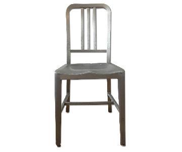Vintage Circa 1973 Goodform Navy Chair