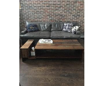 ABC Home Edge Rustic Coffee Table