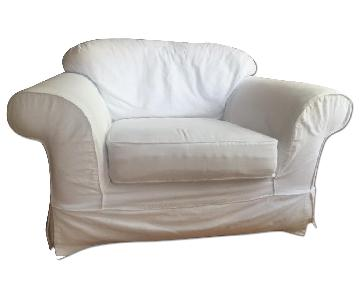 Alan White White Chair