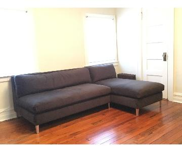 CB2 Cielo II Sectional Sofa
