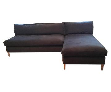 CB2 Cielo II Sectional Sofa