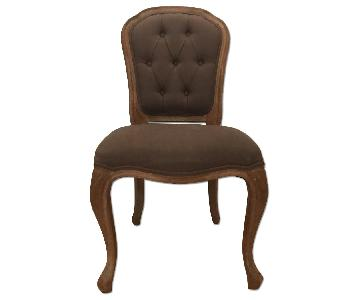 ABC Home French Quarter Linen Chair