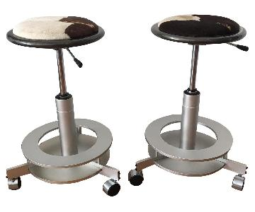 Dakota Jackson Saturn Stools