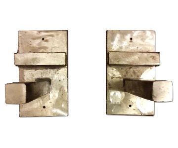 Industrial Style Steel Shelving Brackets