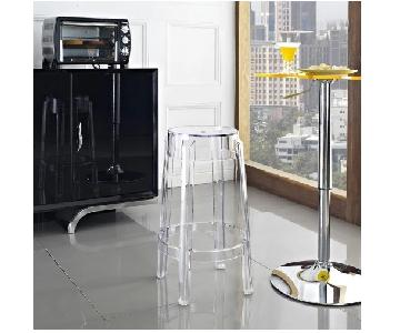 Casper Acrylic/Clear Counter Stool
