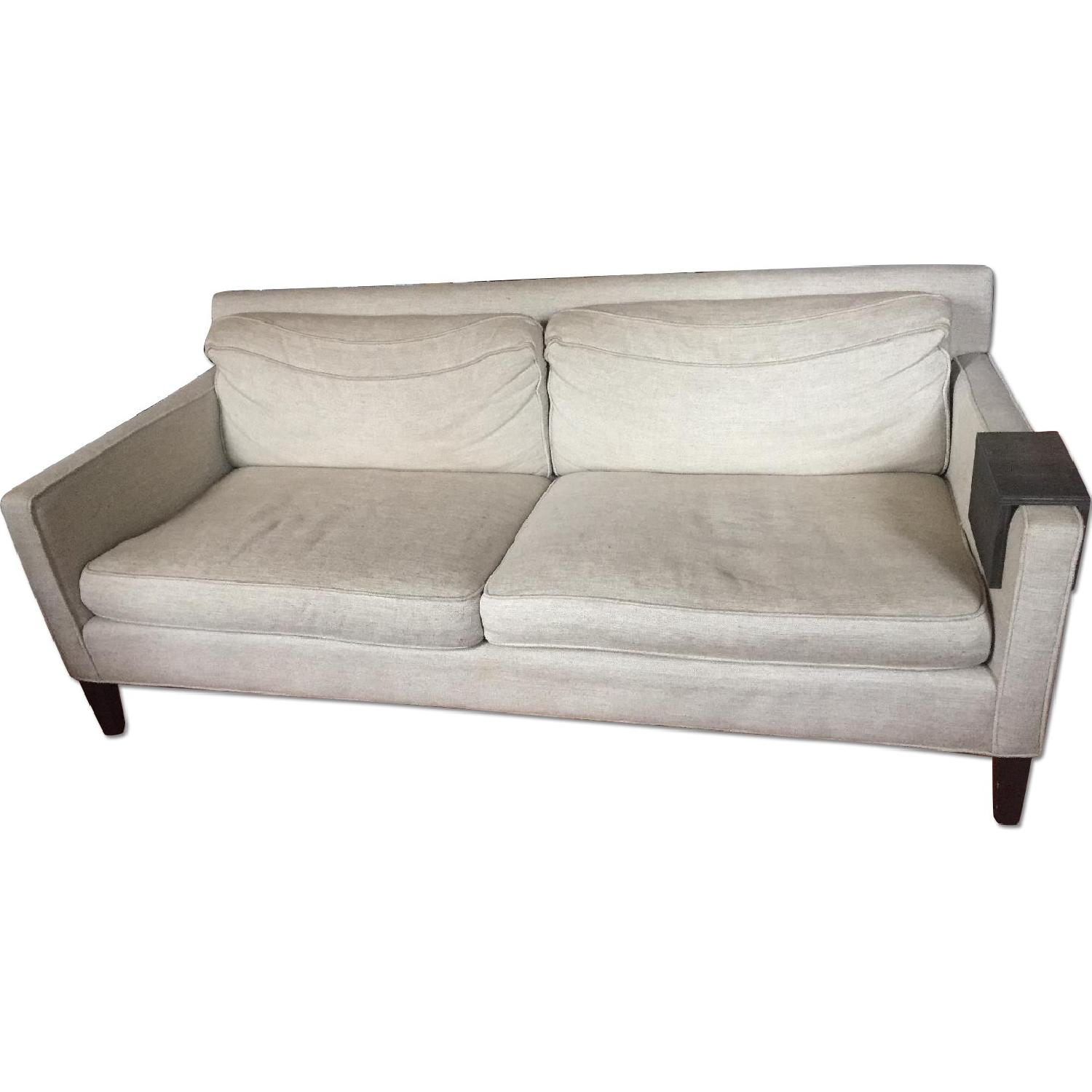 Crate & Barrel Tan Sofa