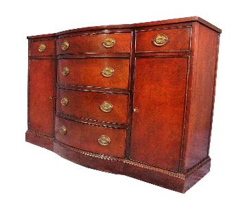 Drexel Mahogany Georgian Side Cabinet/Buffet