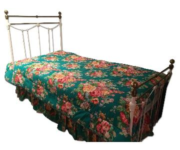 Antique Iron Trundle Bed Frame