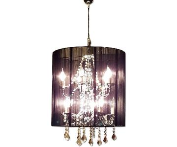 Modani Moon Medusa Contemporary Chandelier in Black