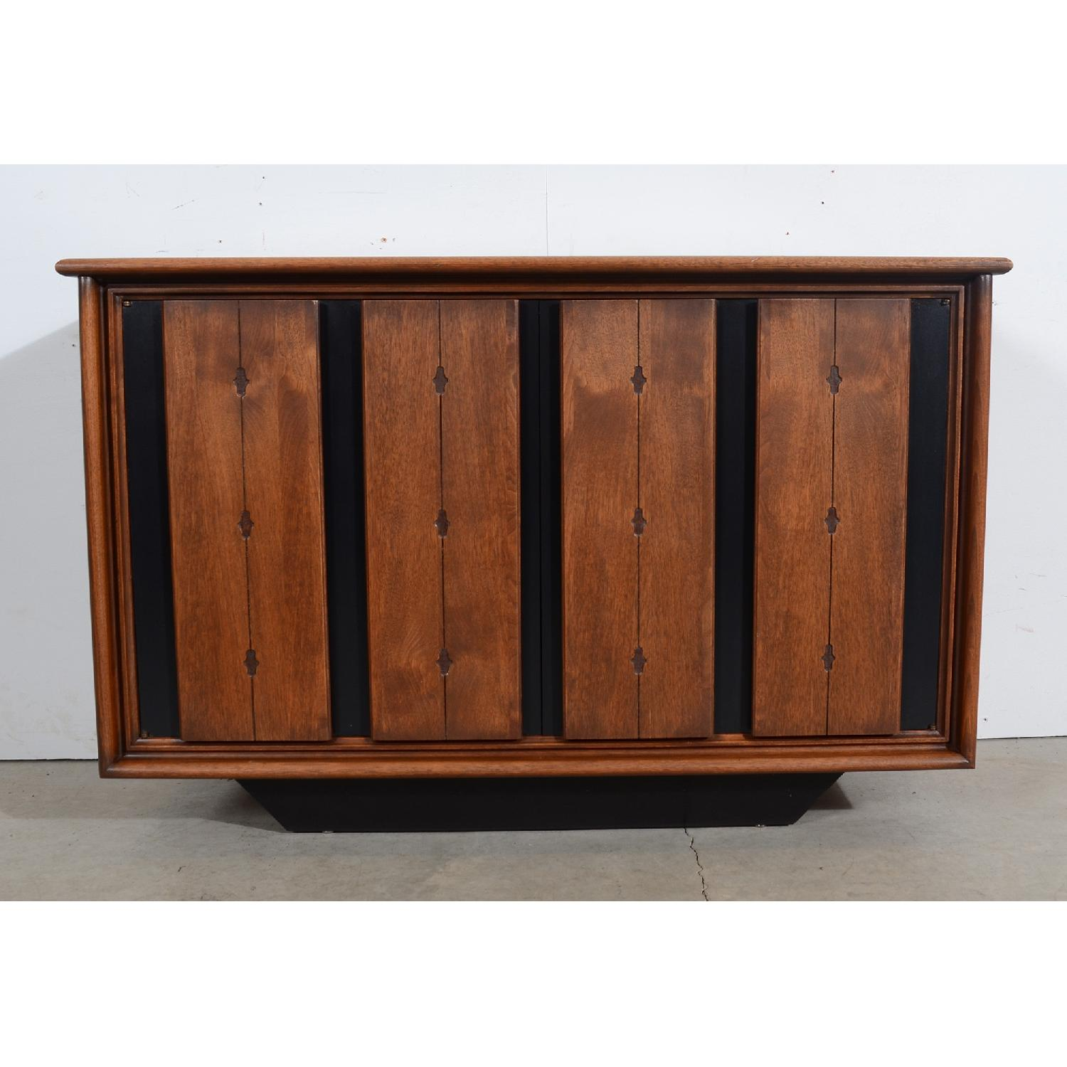 Mid Century Modern Walnut Console/Entertainment Unit-1