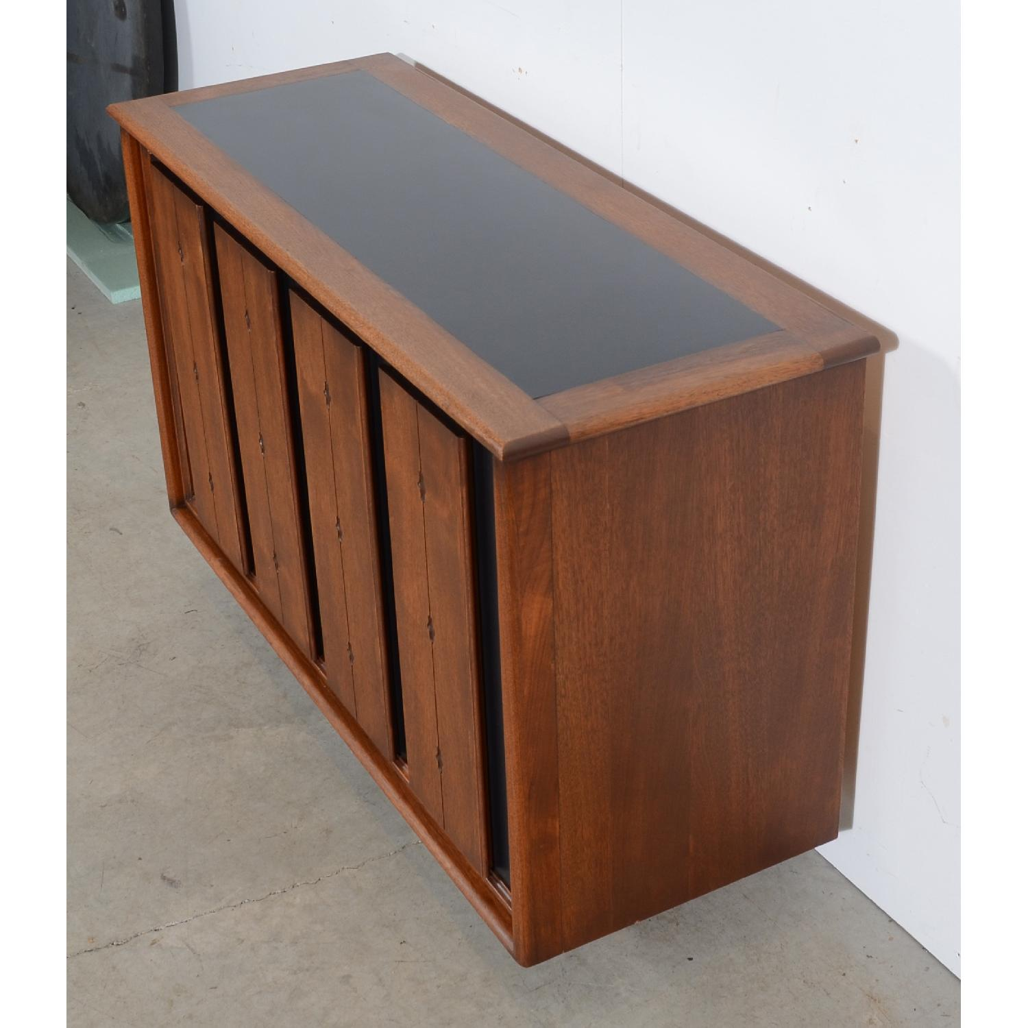 Mid Century Modern Walnut Console/Entertainment Unit-2