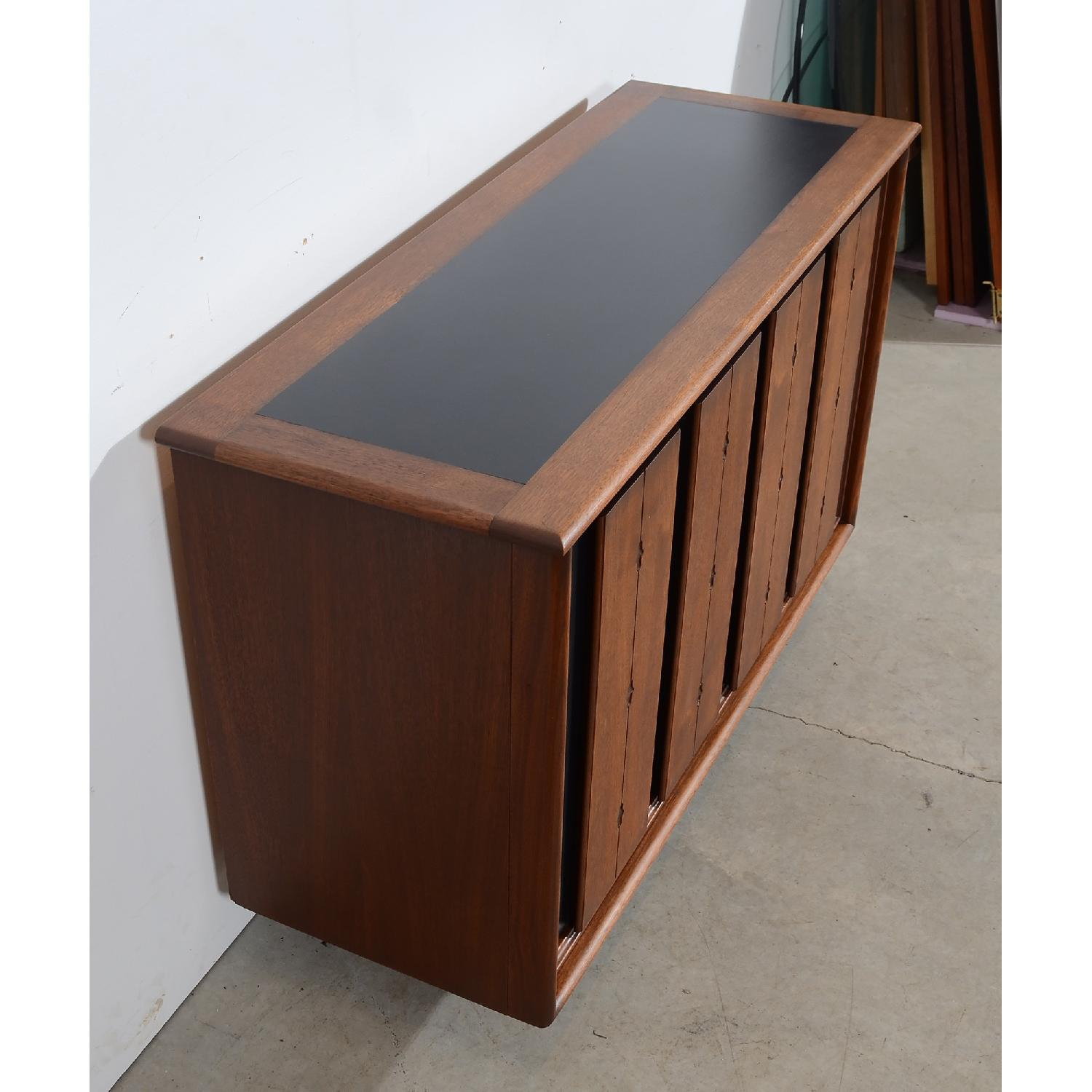 Mid Century Modern Walnut Console/Entertainment Unit-3
