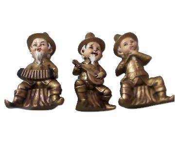 Ceramic Musician Figurines