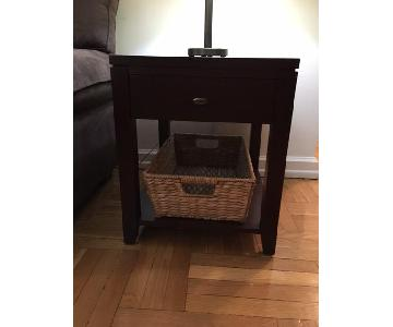 Crate & Barrel Side Table