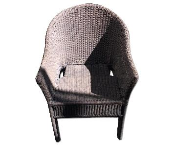 Crate & Barrel Oudoor Chair