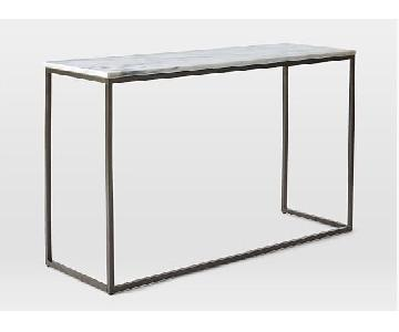 West Elm Box Frame Console Table