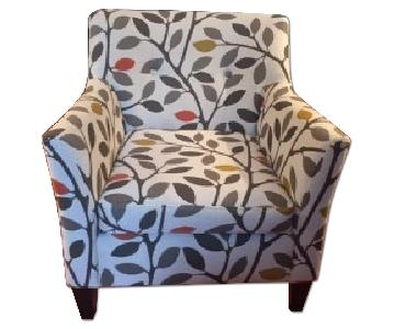 Macy's Ava Fabric Accent Chair