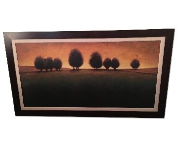 Framed Sky & Field Print