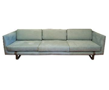 Milo Baughman 3 Seater Sofa