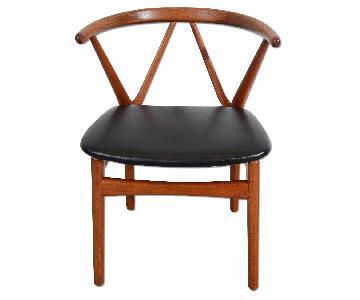 Bruno Hansen Chair Danish Modern Teak Arm Chair