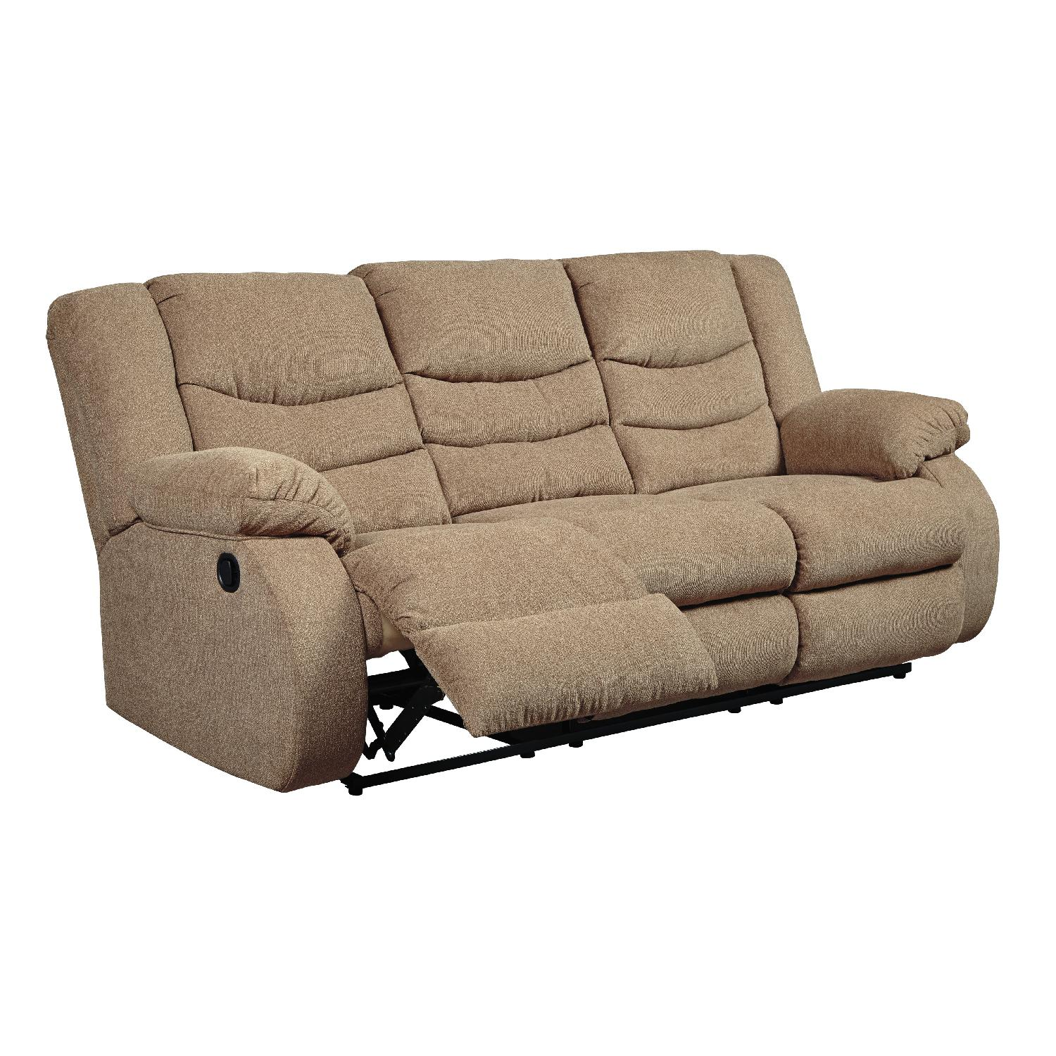 ... Ashleyu0027s Tulen Contemporary Reclining Sofa in Mocha Fabric-1 ...  sc 1 st  AptDeco & Ashleyu0027s Tulen Contemporary Reclining Sofa in Mocha - AptDeco islam-shia.org
