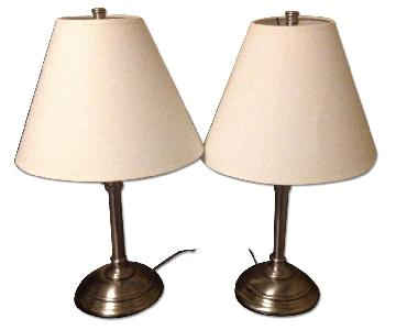 Pottery Barn Bedside Table Lamp w/ Shade