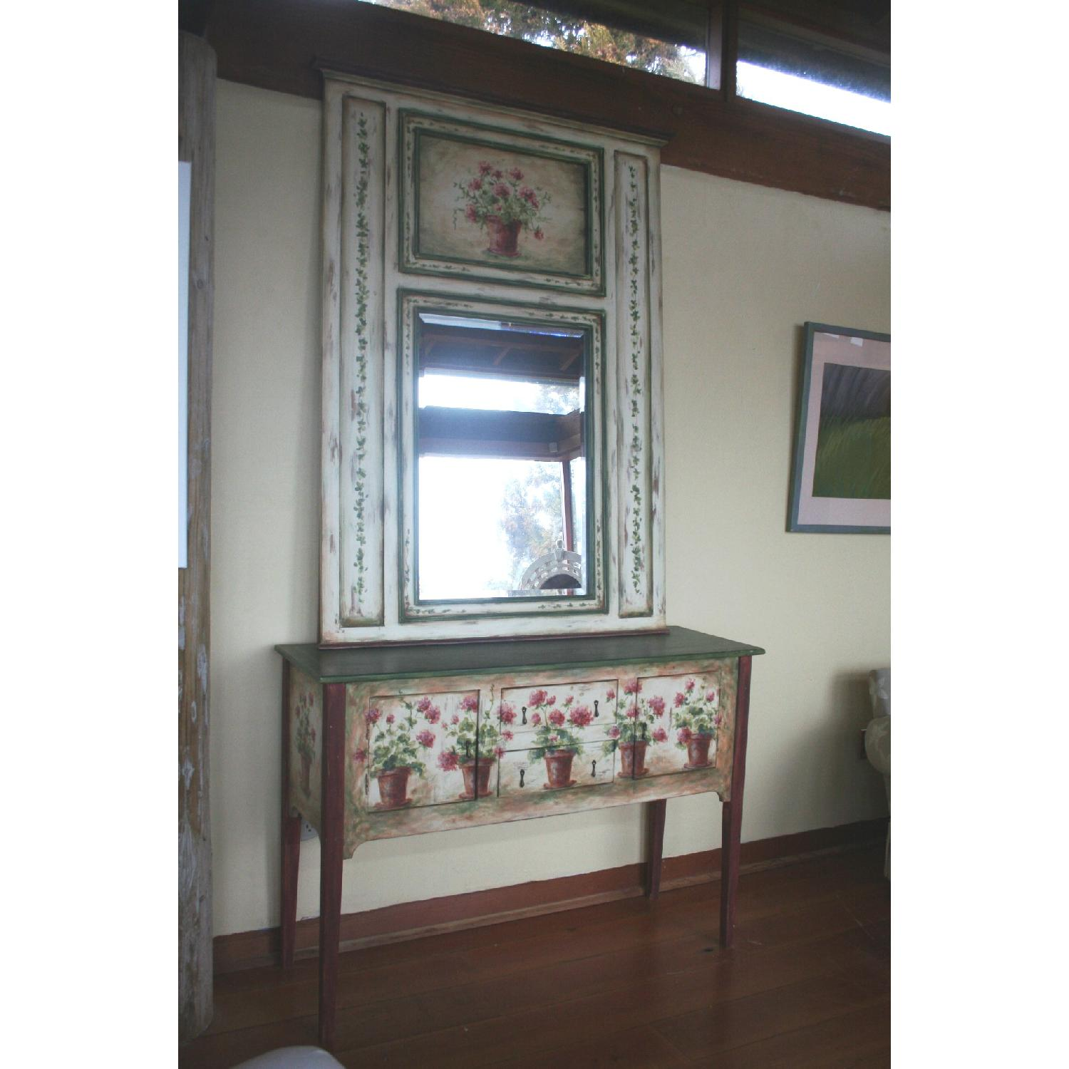 Habersham Signed Sideboard & Mirror-3