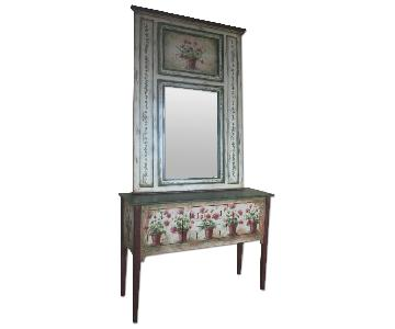 Habersham Signed Sideboard & Mirror