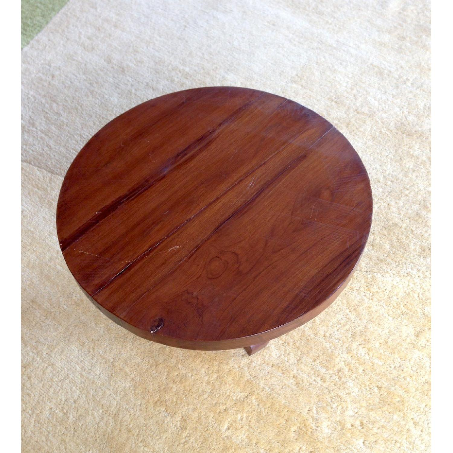 ABC Carpet & Home Round Wooden Table - image-2