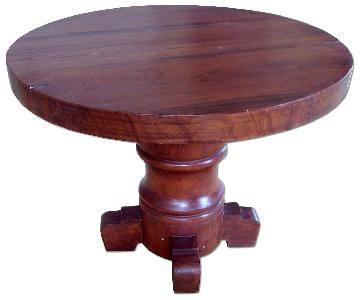 ABC Carpet & Home Round Wooden Table