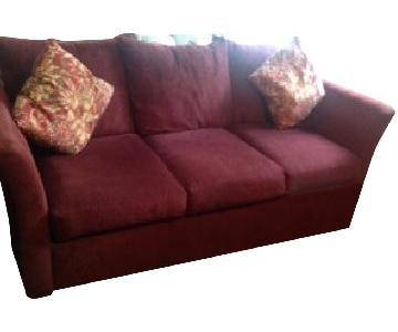 Seminole Queen Size Sleeper Sofa W Ottoman