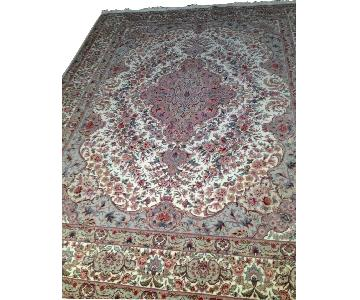 Persian/Oriental Silk Area Carpet