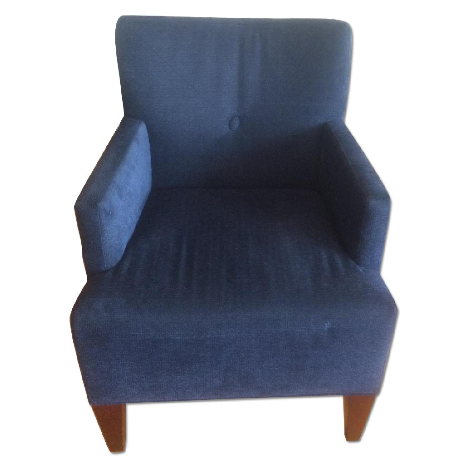 HBF Brentwood Collection Blue Navy Chair/Armchair