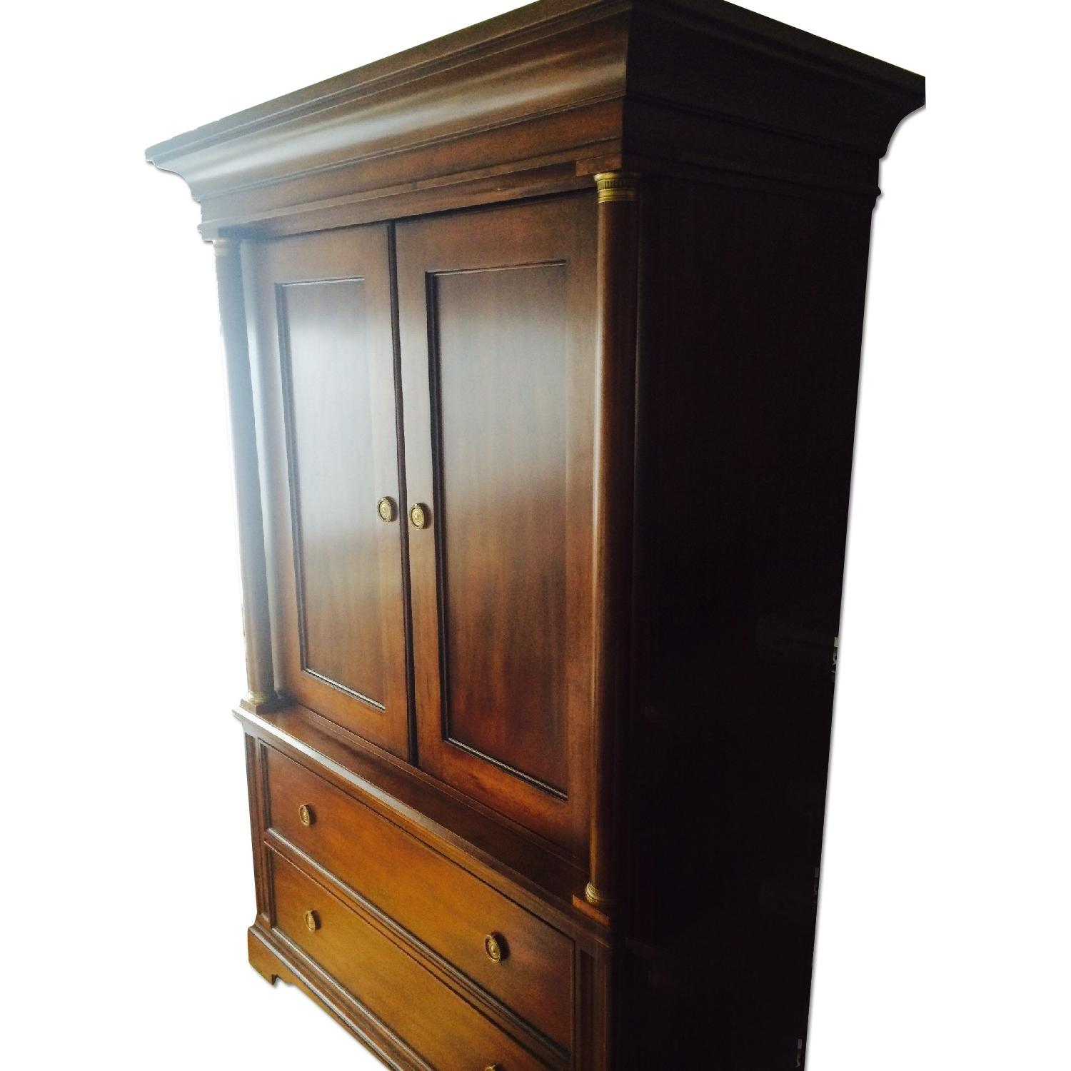 used armoires wardrobes for sale in nyc aptdeco. Black Bedroom Furniture Sets. Home Design Ideas