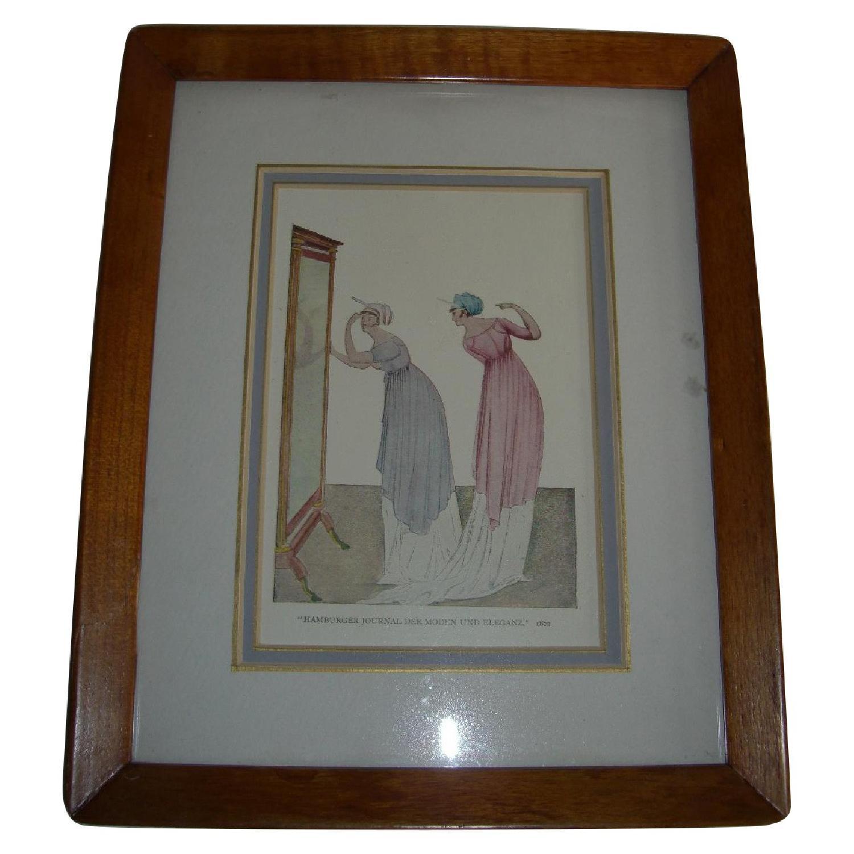 1802 Print - Hamburger Journel Der Moden Und Eleganz