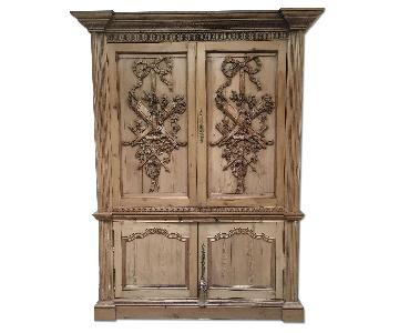 1800s English Armoire
