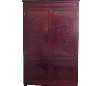 Rosewood Armoire