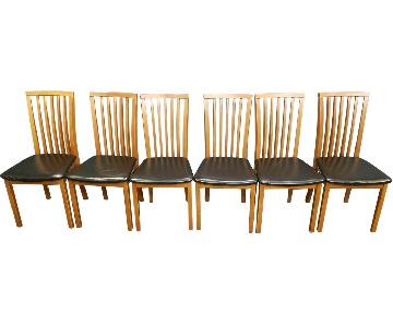 Skovby Cherry Dining Chairs