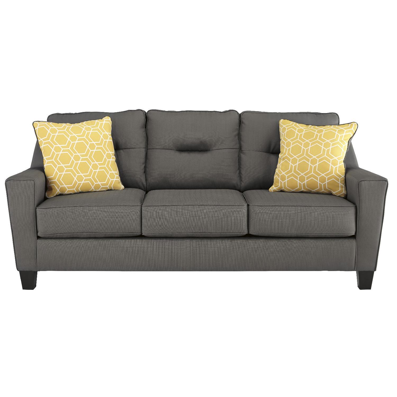 Ashley's Grey Nuvella Sofa